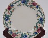 Royal Cauldon VictoriaDesert Plate Crazing