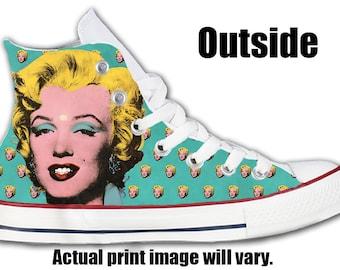 Marilyn Monroe Custom Converse All Stars