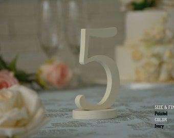 SET 1/25, Elegant Wedding Table Numbers, Table Numbers for Wedding, Wooden Table Numbers, Rustic Wedding, Table Numbers