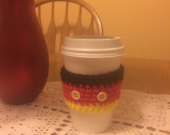Mickey Mouse theme Coffee Cozy