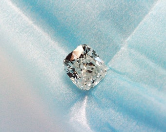 Ideal Cushion Cut Diamond GIA Graded Certified Natural Eye Clean