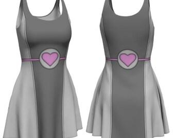 Heart Dress (companion cube inspired)