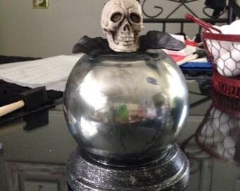 Halloween Gazing Ball