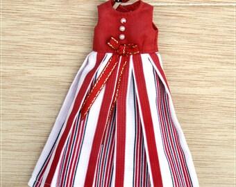 Blythe/Pullip Red Dress      1/6 BJD