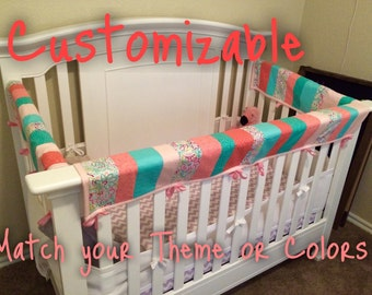 Custom Baby Teething Crib Guard - FRONT ONLY