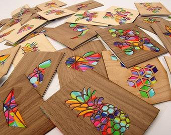 5 Card Set, Blank Greeting Cards, Greeting Card Set, Modern Cards, Note Card Set, Holiday Card Set, Blank Card Set, Blank Note Cards