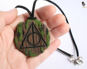 Deathly Hallows necklace.