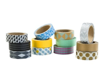 The Wrapping Room - 3 x Washi Tape
