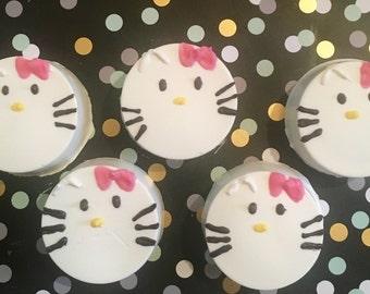 Hello Kitty Chocolate Covered Oreos
