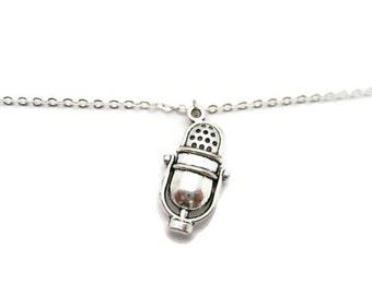 Microphone Bracelet  Radio Bracelet  Microphone Jewelry Music Bracelet  Musicians Gift Music Lovers Bracelet Singers Bracelet