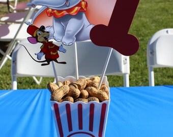 Dumbo Birthday Party Centerpiece, Circus birthday party Centerpiece