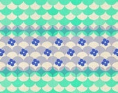 Pre-order Fat Quarter Gumdrops in Blue of Trinket by Melody Miller for Cotton and Steel