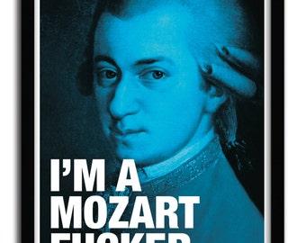 Affiche Mozart par Fist et des Lettres
