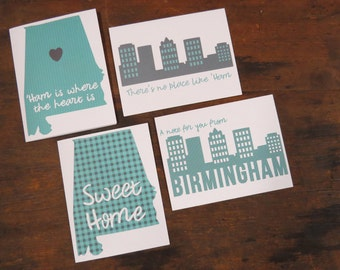 Birmingham, Alabama Notecards