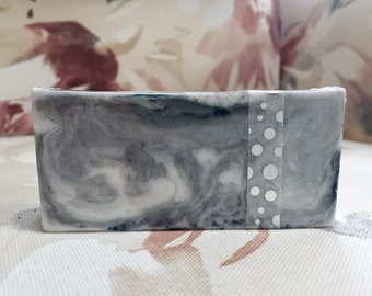 SALE Soap/ CLEARANCE Soap/ Chardonnay Soap Bar/ Wine Soap/ Gift for her/ Gift for Mom/ Activated Charcoal Soap