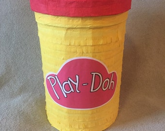 Playdohs container pinata