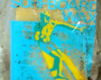 BP SUPER Surfboard Wax (beeswax) from the 1960s, still in their original packaging.