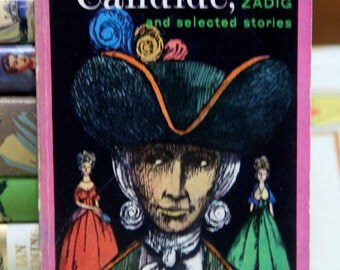 Vintage 1961 Candide, Zadig, and Selected Stories  - Paper back by Francois Voltaire
