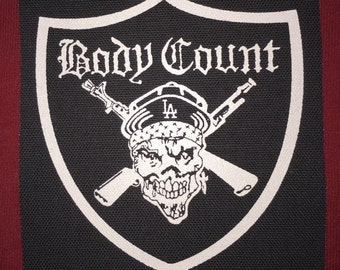 Body Count Cloth Punk Patch