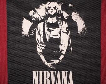 Nirvana Cloth Punk Patch