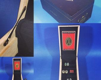 Cigar Box Cufflink Case