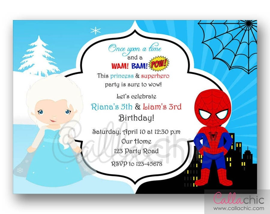 boy and girl party theme