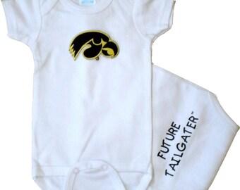 Iowa Hawkeye Future Tailgater Baby Bodysuit