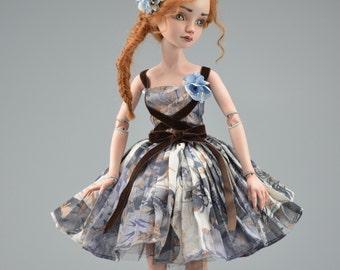 Porcelain Bjd Ball-jointed-Doll LISA by ReeshDollDesign