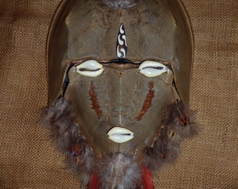 Hand made sculptured mask