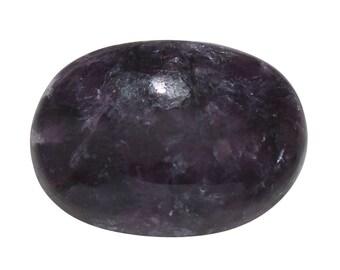 Australian Lepidolite Oval Cabochon Loose Gemstone 1A Quality 14x10mm TGW 4.05 cts.