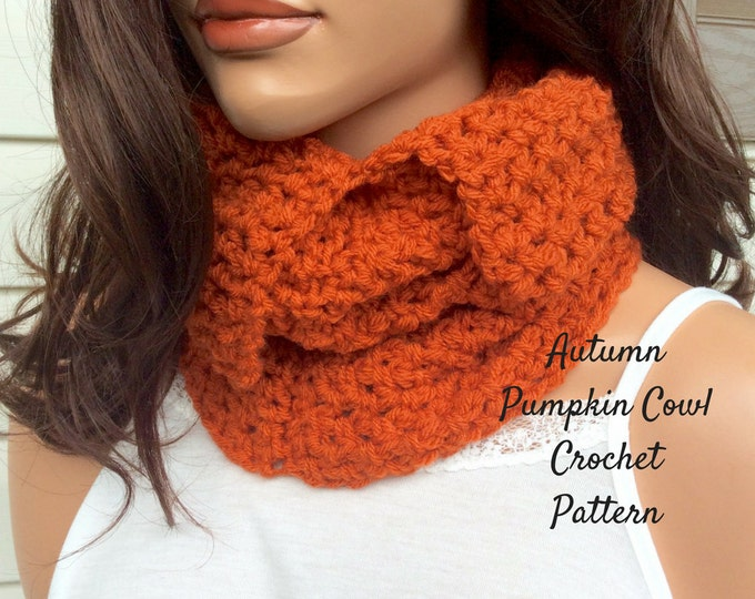 Easy Crochet Cowl Pattern, Beginner Level Crochet Cowl, UK and American Crochet Pattern, Easy Written Crochet Pattern and Photo Tutorial