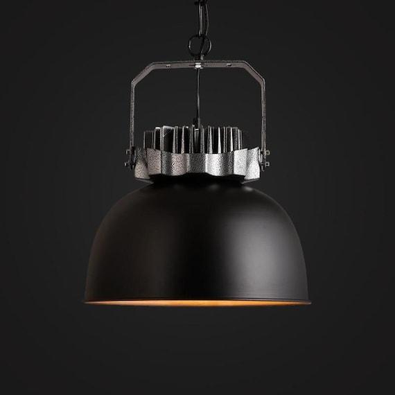 Large Black Warehouse Lamp Pendant Light Hanging Lamp
