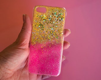 Golden& Pink Case - Iphone 5C