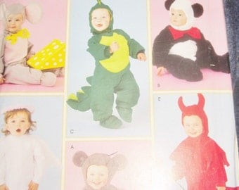 Infant mouse dragon angel devil panda Bear Costumes pattern Baby toddler