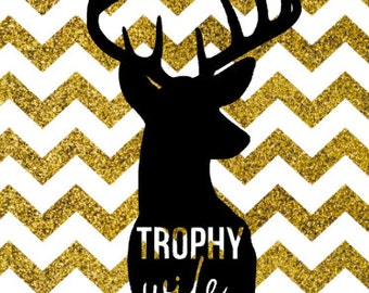 TROPHY WIFE SVG