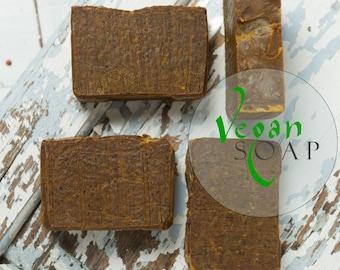 Vegan Rooibos  & Turmeric natural soap