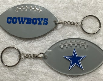 Dallas Cowboys Football Acrylic Keychain
