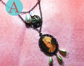 marie laveau Voodoo necklace