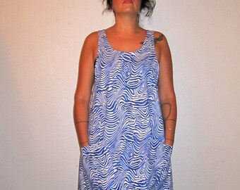 Wrap Around Tunic, Dress, Cover up, Jumper, Smock