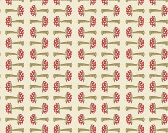 Capped in Biome, Forest Floor Collection by Bonnie Christine for Art Gallery Fabrics 6092