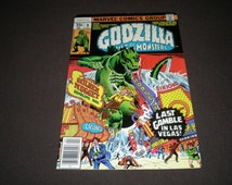 Godzilla 9, The Fate of Las Vegas, 1978. Marvel Comics C07