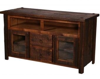 Rustic TV Stand, Reclaimed Wood TV Stand, TV Stand, Living Room Furniture, Rustic Furniture, Rustic Home Decor