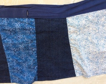 Wrap skirt one of a kind