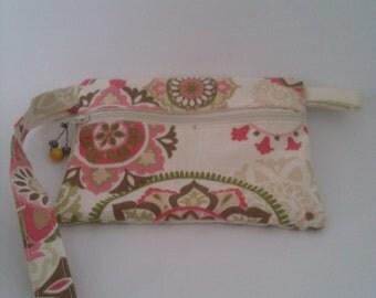 Wristlet Purse, Small Handbag, Small Wristlet Purse, Cell Phone Purse