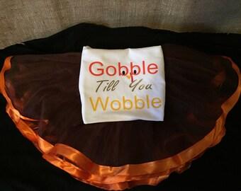 Thanksgiving tutu outfit