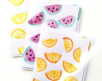 FRUIT SLICE CARD
