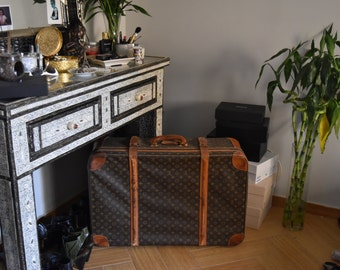 Vintage Louis Vuitton Suitcase LV | 1980's