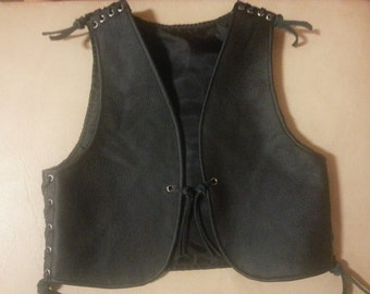 leather vest,babykutte, 1 - 3 years