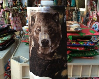 Bear Water Bottle Carrier, Water Bottle Holder, Water Bottle Cozy