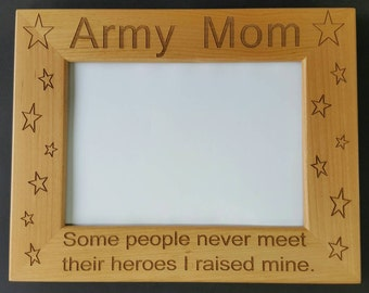 Memorial Picture Frame 5x7  Custom Laser Engraved Frame